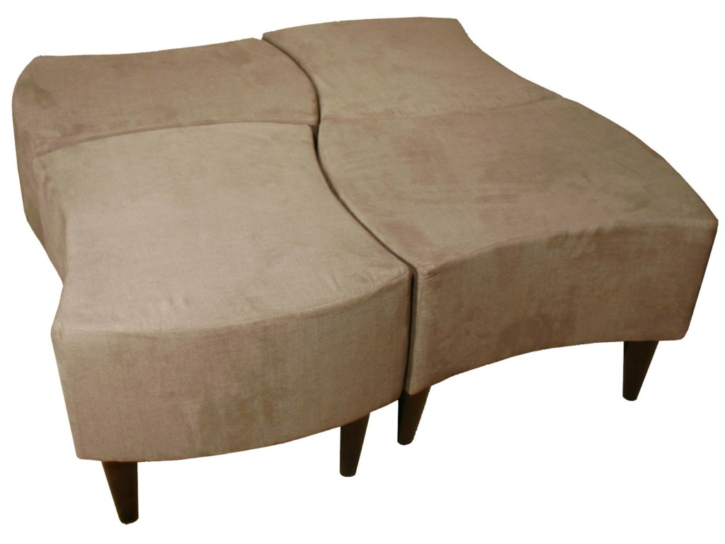 Max Home 2TOLCocktail Bench Shaped