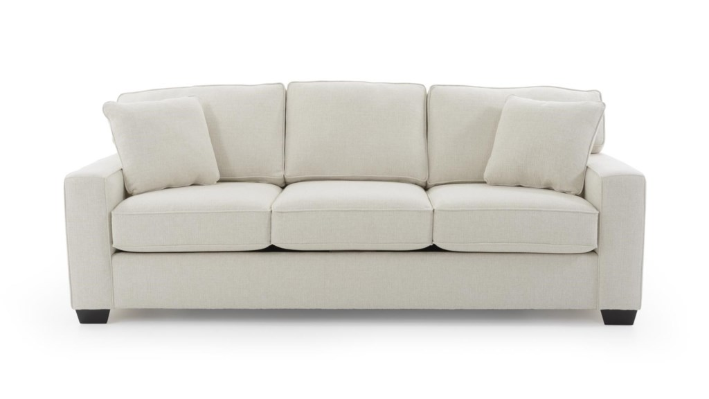 Max Home Bermuda 9jh6 A Bk Cream King Sized Sofa Sleeper With  ~ King Size Pull Out Sofa Bed