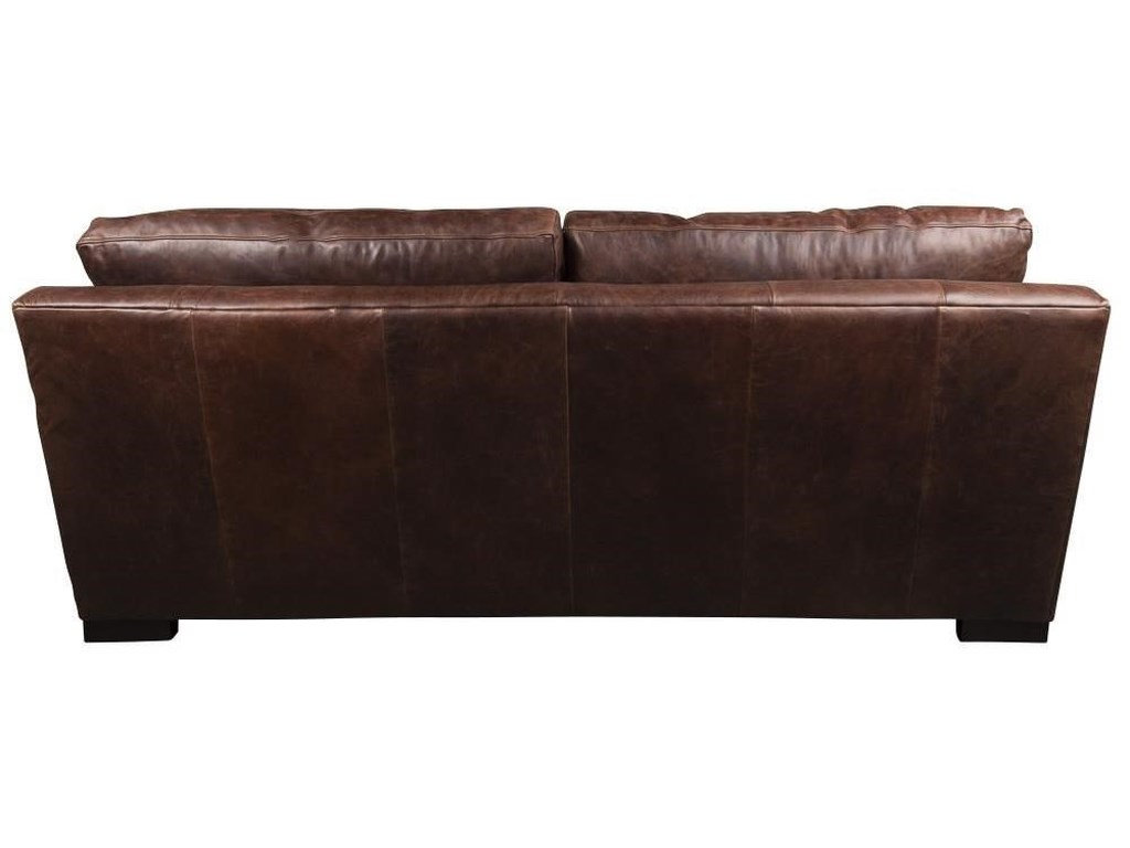 Aiden & Blair Quinlan 100% Leather Apartment Sofa | Morris Home | Sofas