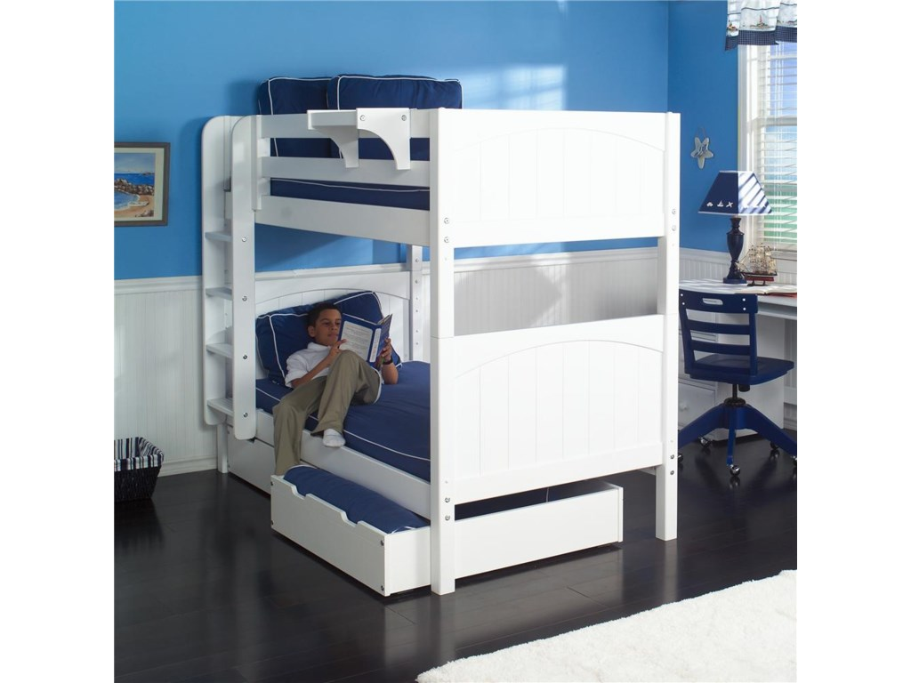 Maxtrix Hot Shot 1 WhiteBunk Bed