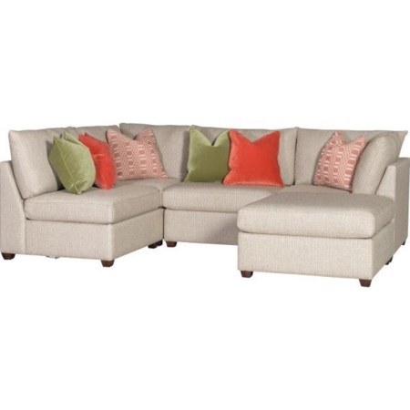 Sectional with Storage Ottoman