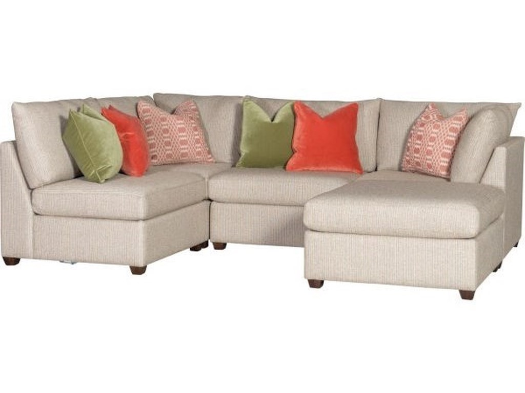 Mayo 1516Sectional with Ottoman