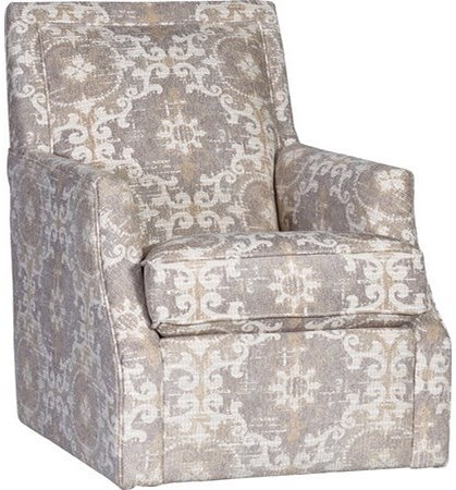 Mayo 2325 Swivel Chair with Flared Arms