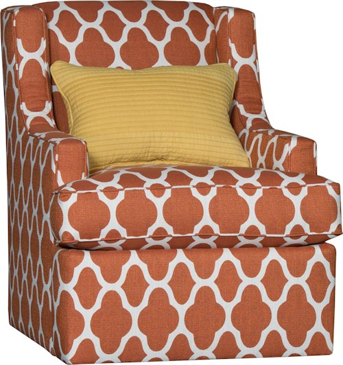 Mayo 2800 Petite Swivel Chair w/ Sloping Arms