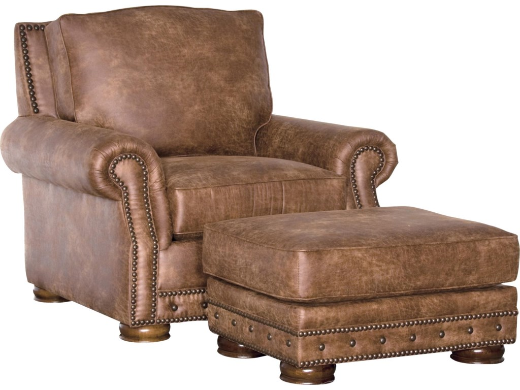 Mayo 2900Traditional Chair and Ottoman Set