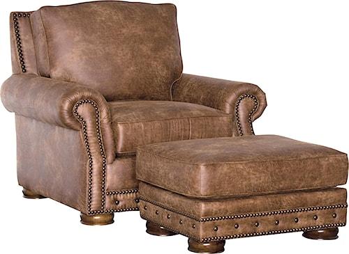 Mayo 2900 Traditional Chair and Ottoman Set