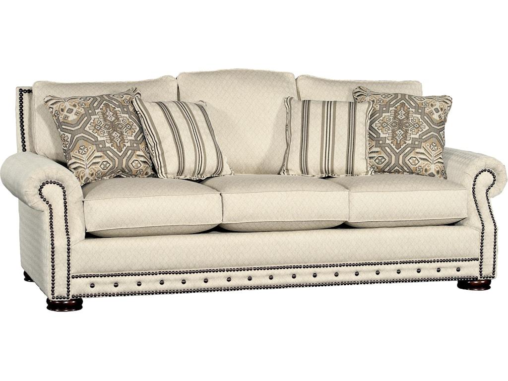 Mayo Sofa Mayo 3180 Traditional 3 Seat Stationary Sofa Olinde S Furniture Thesofa
