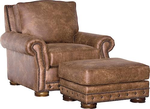 Mayo 2900 Traditional Chair & Ottoman Set