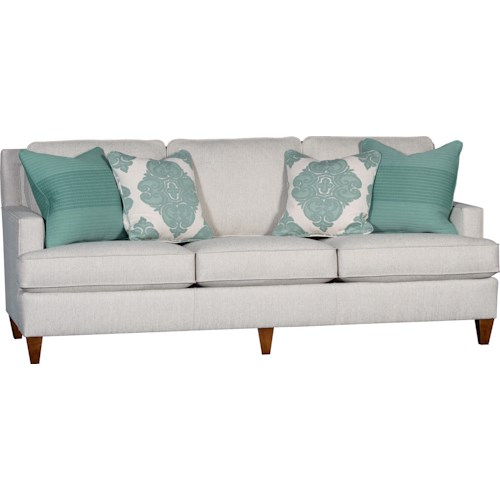 Mayo 3030 Sofa with Tapered Wood Legs