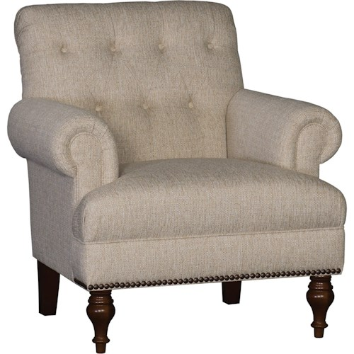 Mayo 3419 Tufted Back Chair