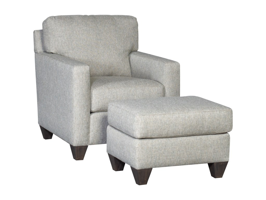 Mayo 3488Chair and Ottoman Set