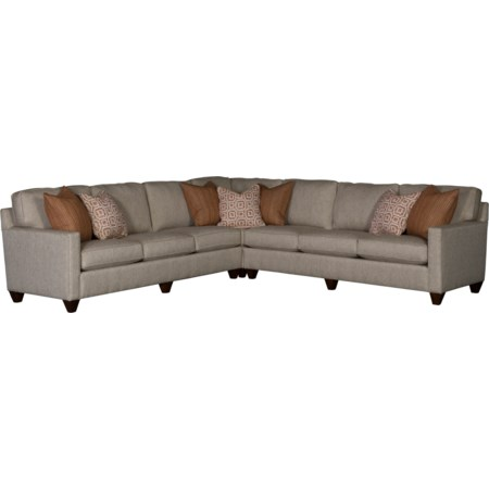 Sectional Sofa with 6 Seats