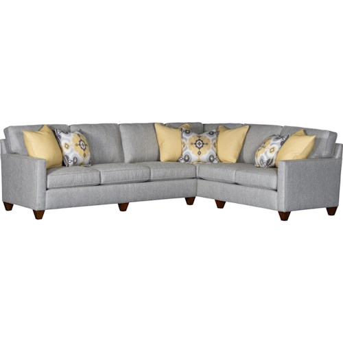 Mayo 3830 2 Piece Sectional with Track Arms