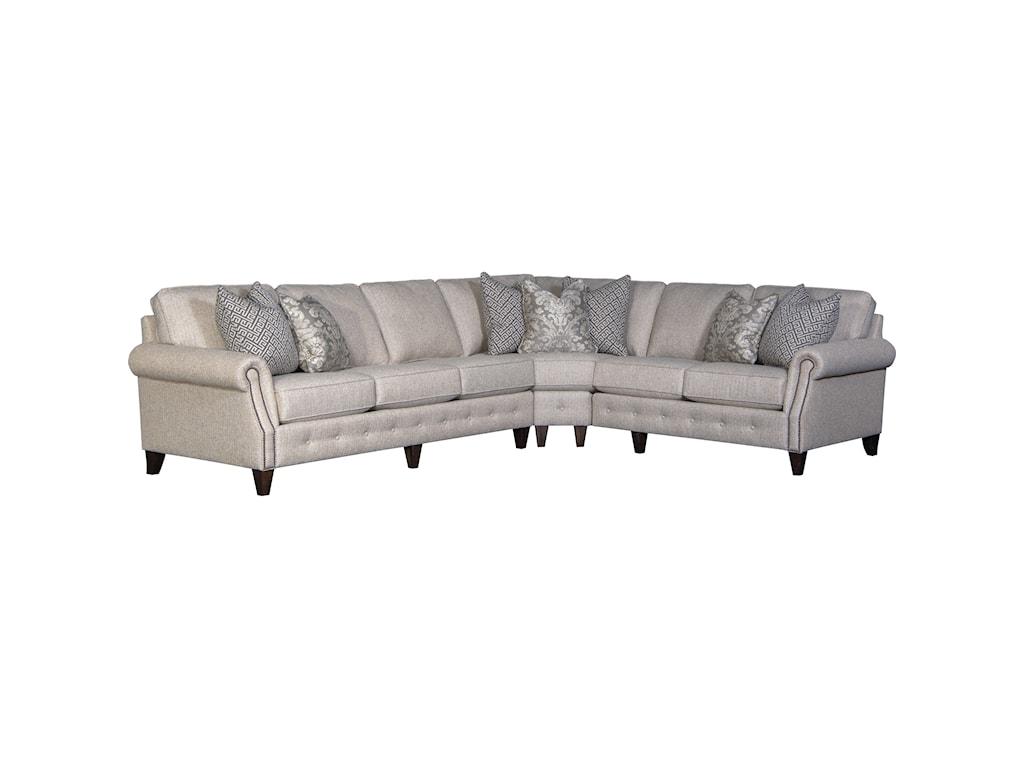 Mayo 40405-Seat Sectional Sofa w/ LAF Sofa