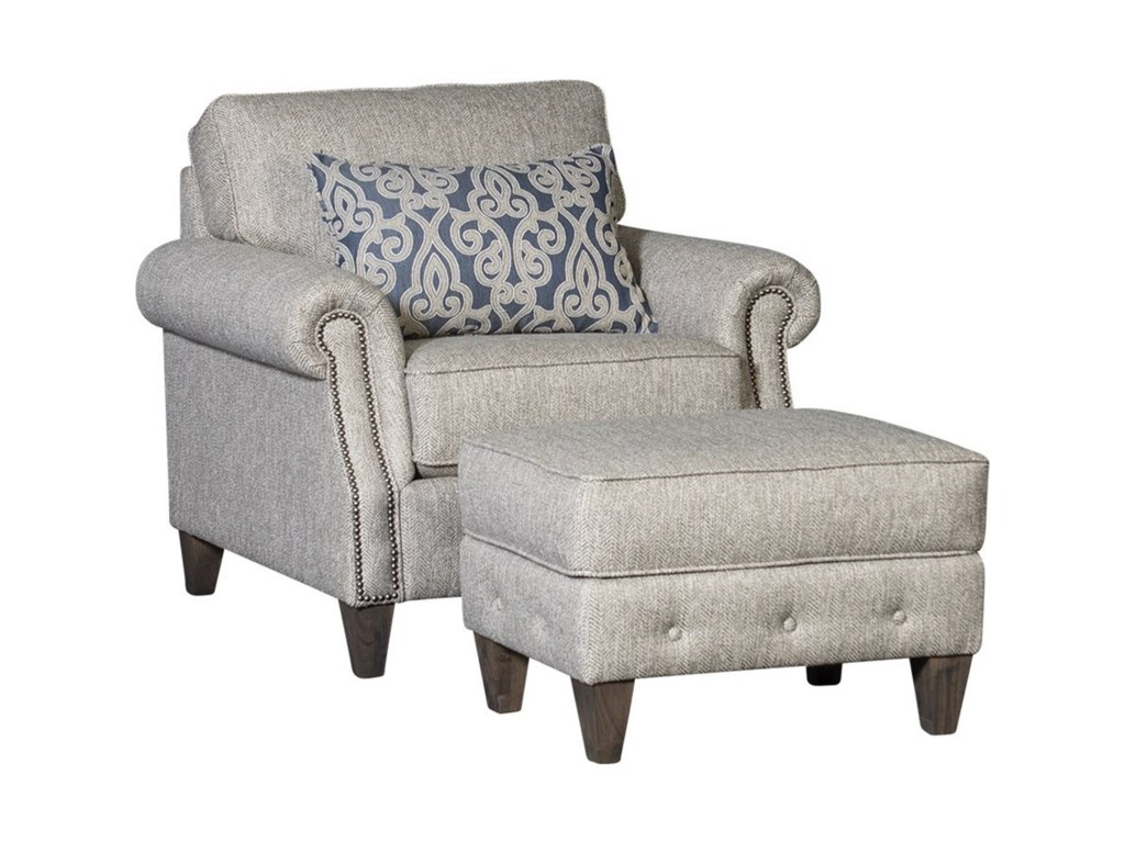 Mayo 4040Transitional Ottoman