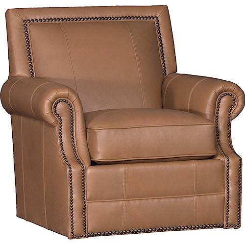 Mayo 4110 Traditional Roll Arm Swivel Chair
