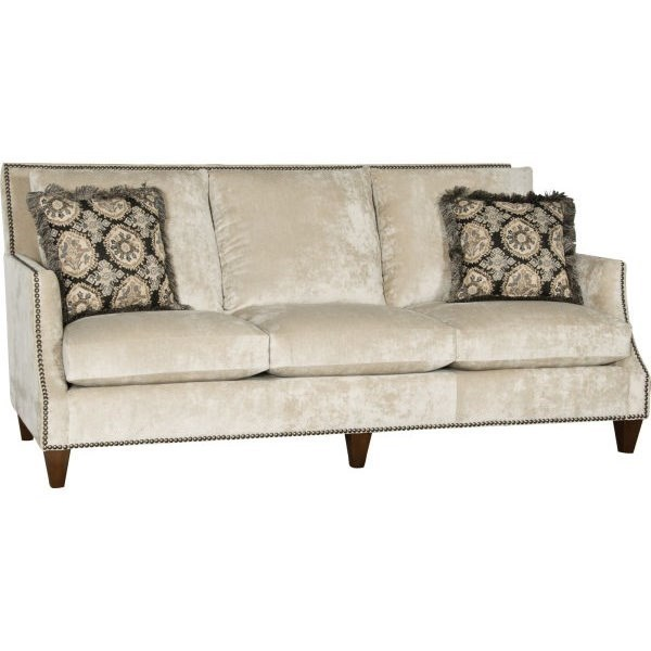 Mayo 4490 Transitional Sofa With Nail Head Trim