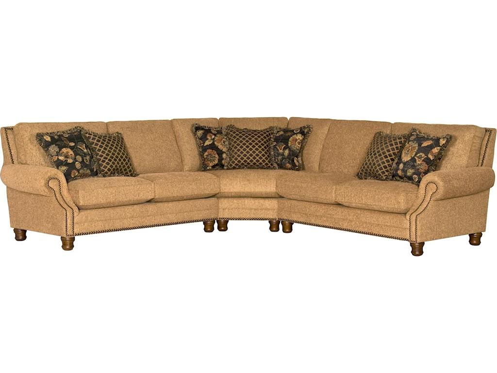 Mayo 5790Traditional 3 Piece Sectional Sofa