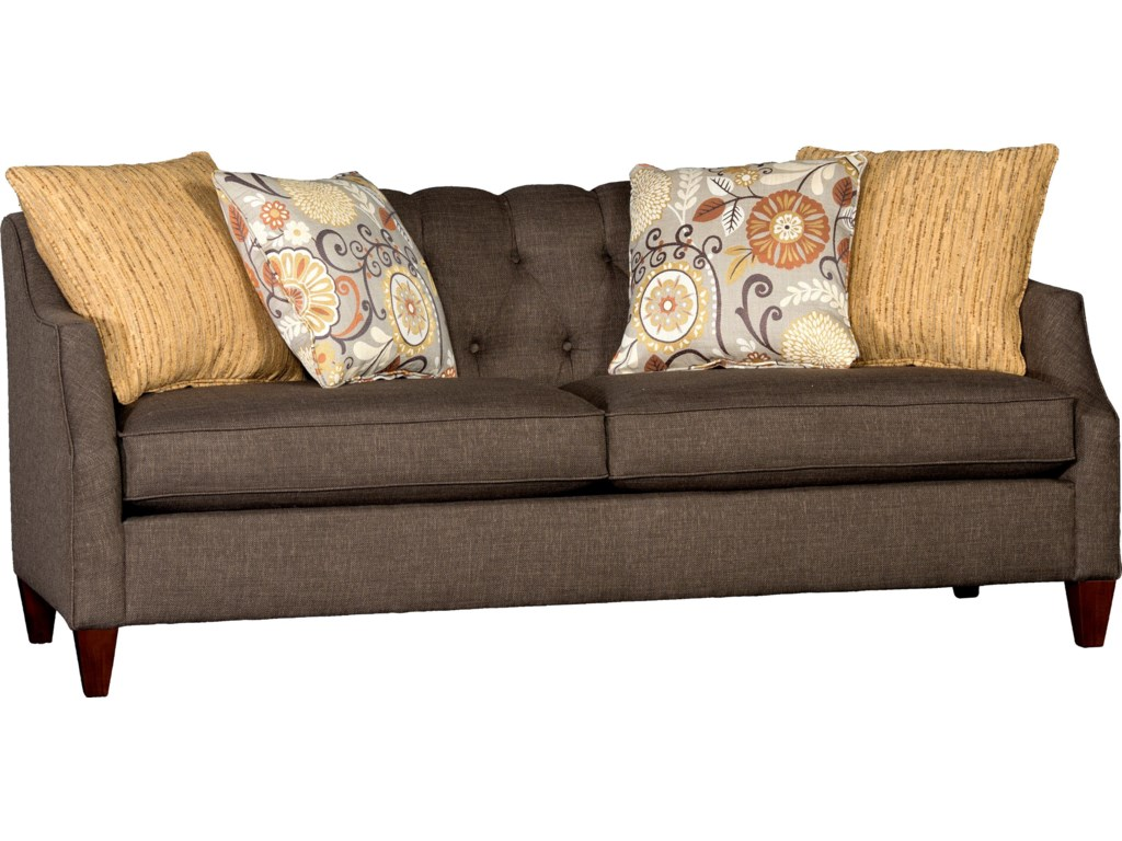 Mayo Sofa Mayo 2900 Rolled Arm Sofa W Nailhead Trim Olinde