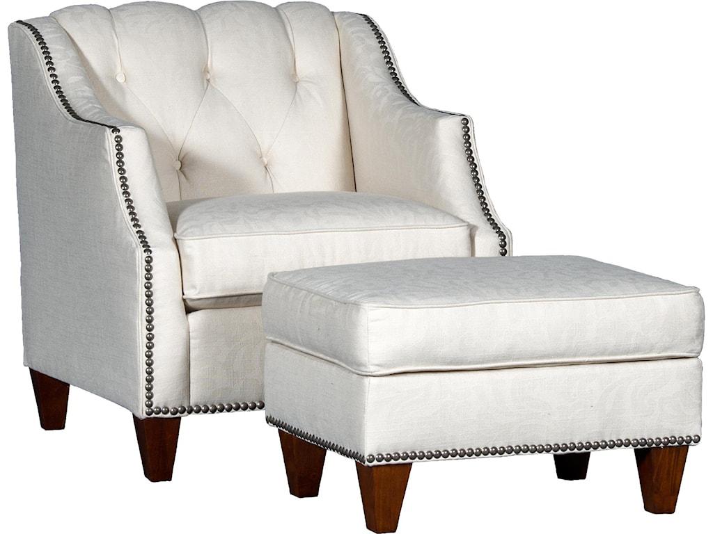 7100 modern chair ottoman set by mayo