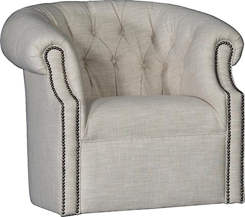 Mayo 8220 Swivel Tub Chair w/ Tufted Back