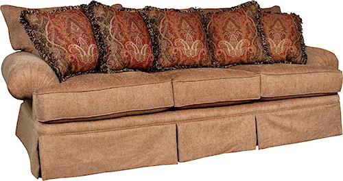 Mayo 1462 Casual Stationary Sofa with Skirt