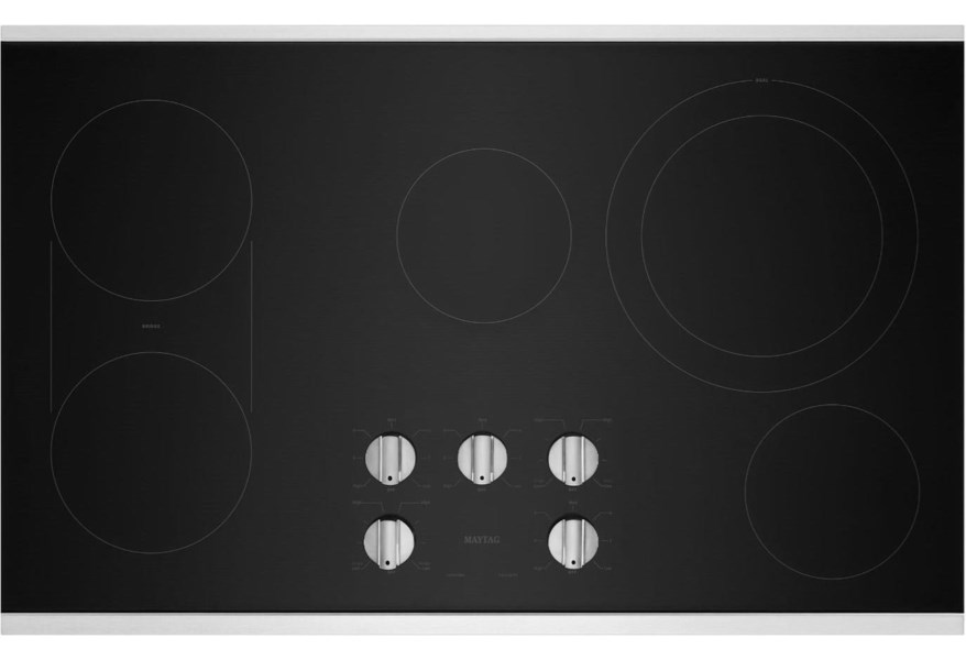Maytag 36 Inch Electric Cooktop With