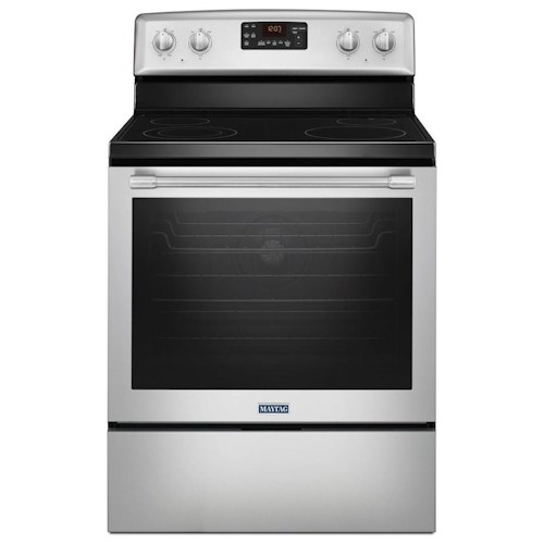 Maytag 30 inch wide electric range with fan convection and max capacity rack 6 4 cu ft - Inch electric range reviews ...