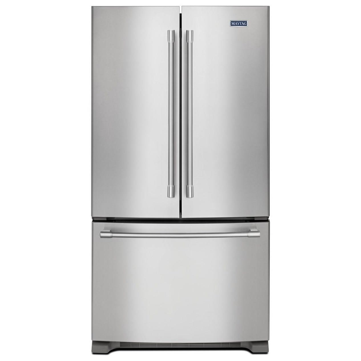 36  Inch Wide Counter Depth French Door Refrigerator   20 Cu. Ft. By Maytag