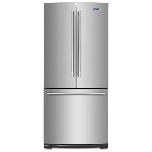 Maytag 30 Inch Wide French Door Refrigerator 20 Cu Ft
