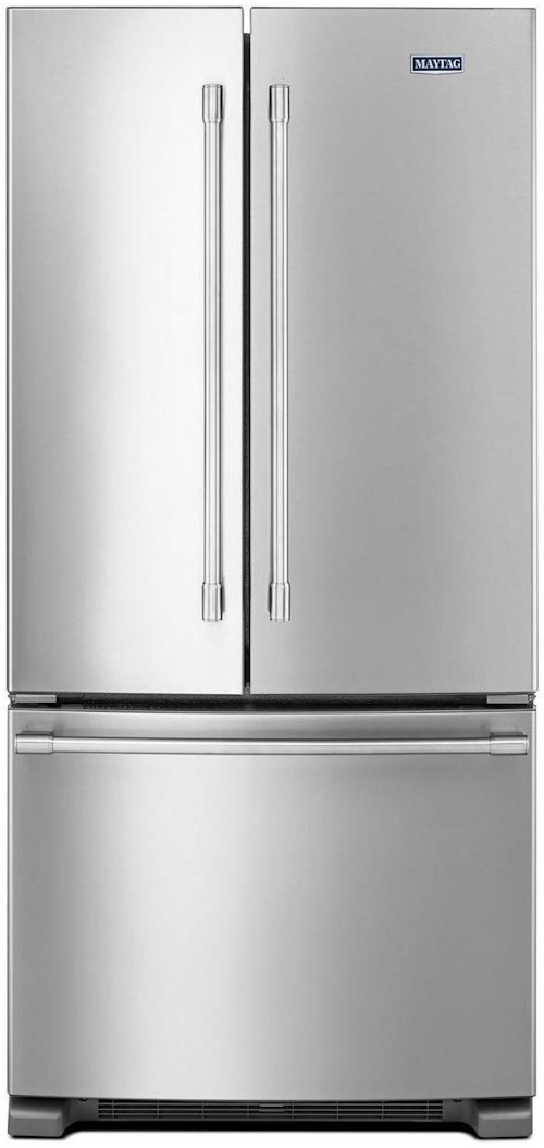 33 Inch Wide French Door Refrigerator 22 Cu Ft Maytag French
