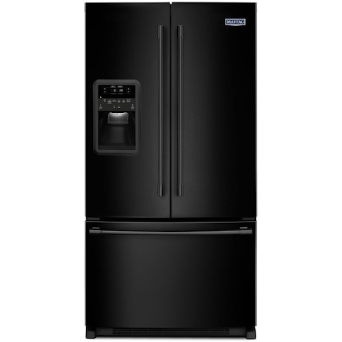 Maytag 33 Inch Wide French Door Refrigerator With Beverage Chiller