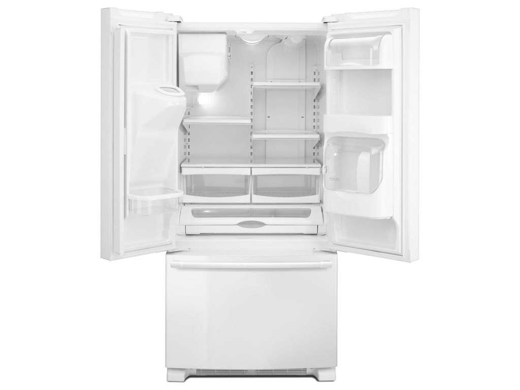 Maytag mfi2269frw33 inch wide french door refrigerator with shown in maytag maytag french door refrigerators 33 inch wide french door refrigerator with beverage chiller compartment 22 cu ft rubansaba