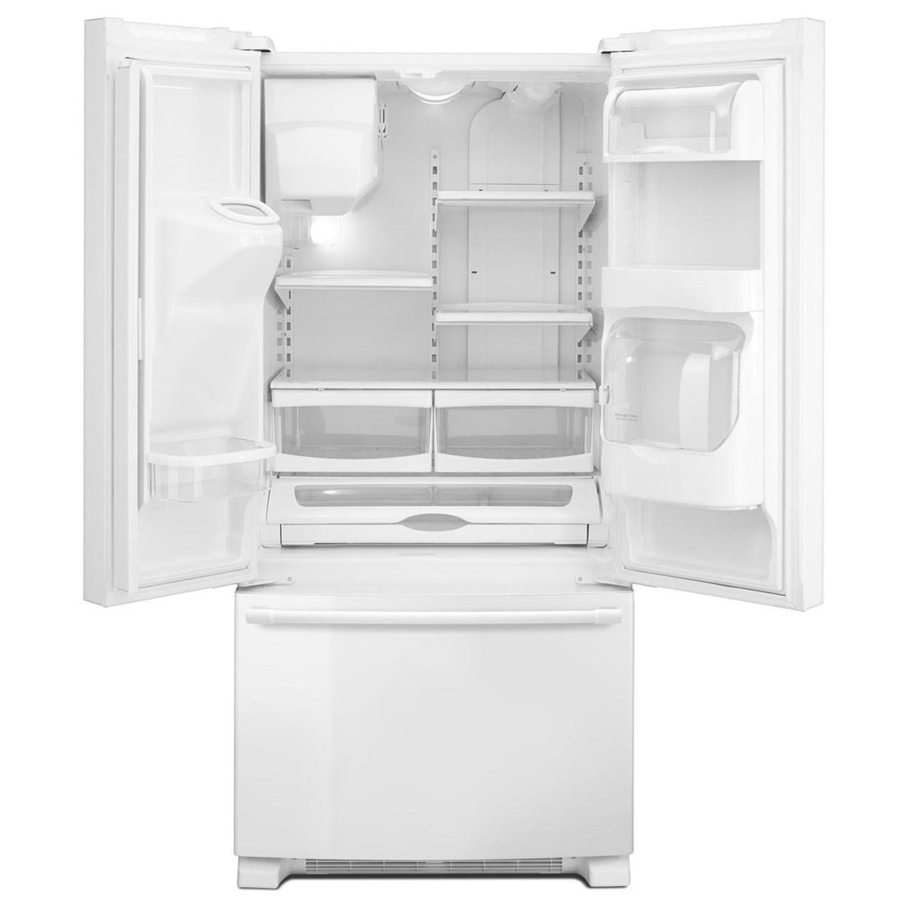 Beautiful Shown In: Maytag Maytag French Door Refrigerators 33  Inch Wide French Door  Refrigerator With Beverage Chiller™ Compartment   22 Cu. Ft.