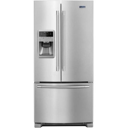 """33"""" 22 Cu. Ft. French Door Refrigerator"""