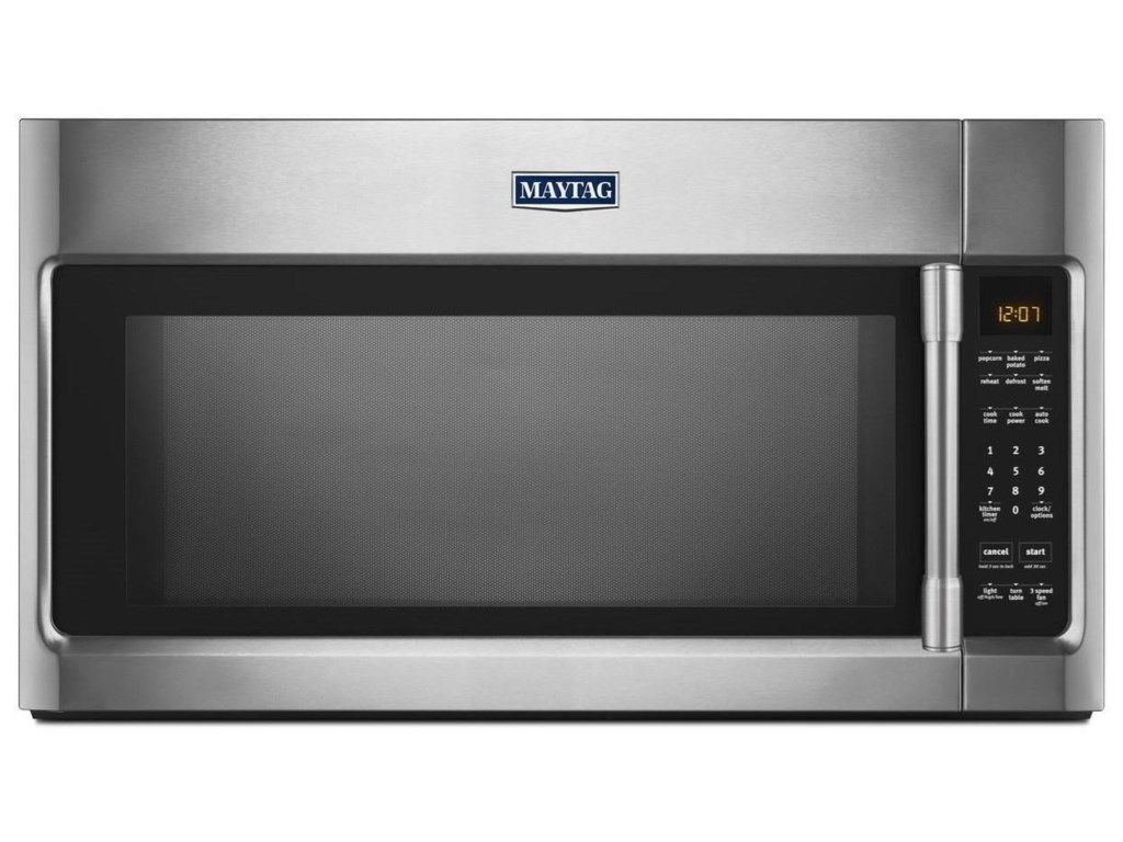 Microwaves Over The Range Microwave With Sensor Cooking 2 0 Cu Ft By Maytag At Furniture And Liancemart