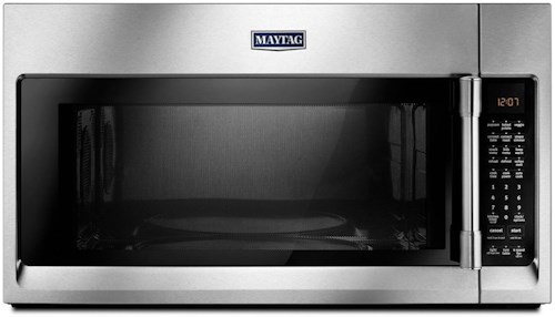 Maytag Microwaves Over The Range Microwave With Convection Mode 1 9 Cu Ft