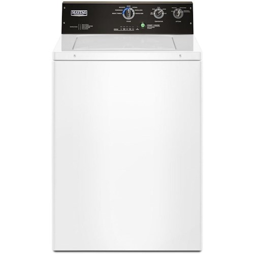 Maytag Top Load Washers 3.5 cu. ft. Commercial-Grade Residential Agitator Washer