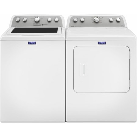 Top Load Washer and Electric Dryer