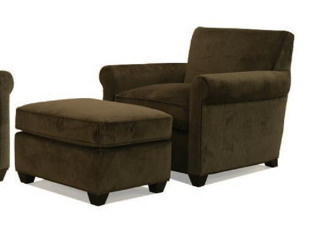 McCreary Modern 0491Chair and Ottoman