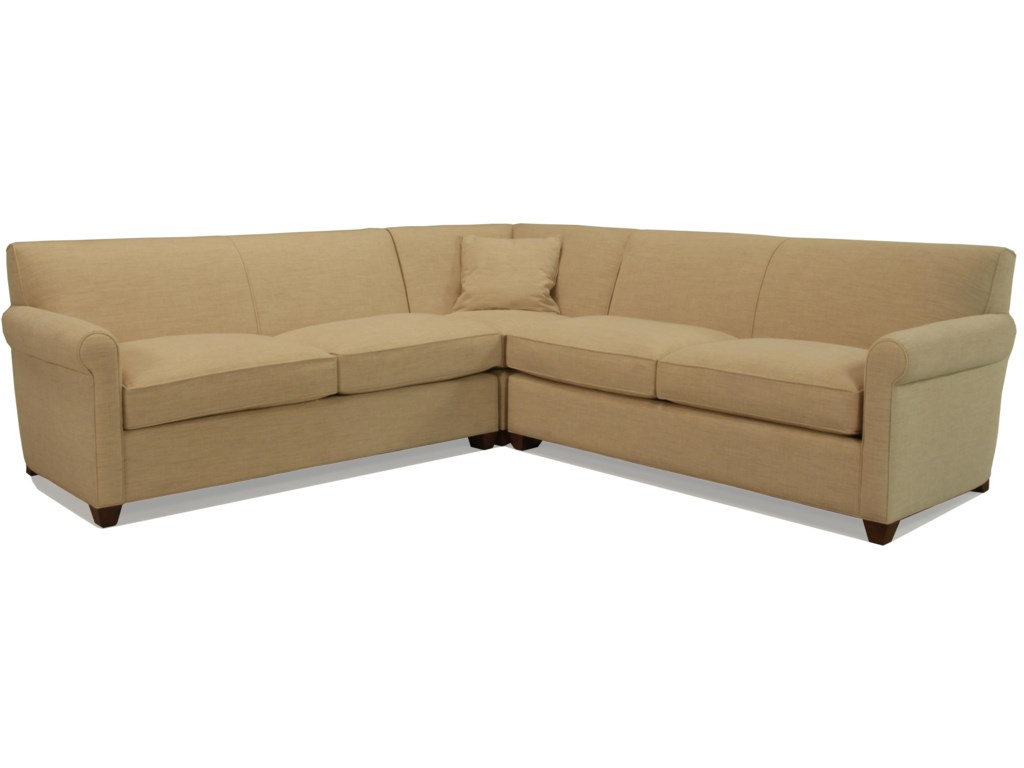 McCreary Modern 0491Sectional Sofa with Sleeper