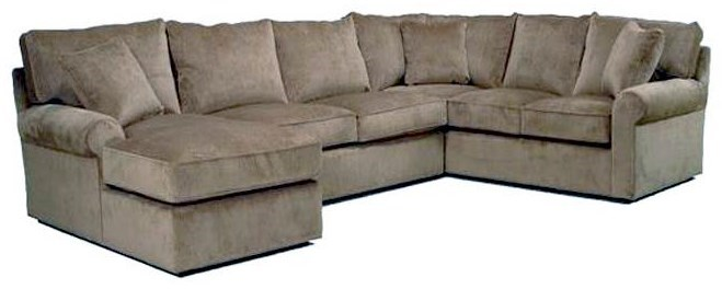 BeModern HarrisSectional Sofa with Left-Arm-Facing Chaise