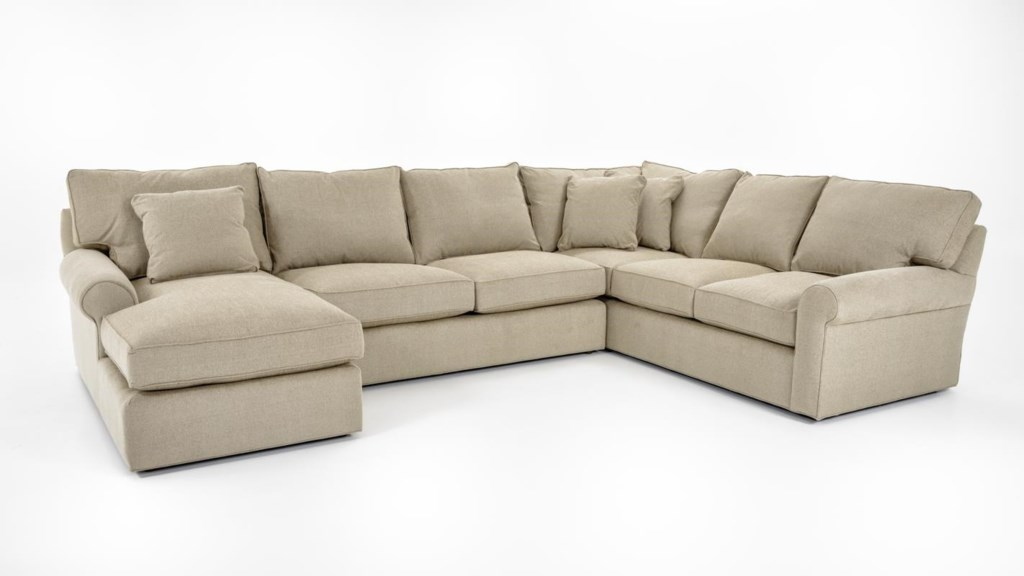 Freestyle Collections 0659 Harris Sectional Sofa With Left-Arm-Facing Chaise  - Baer's Furniture - Sofa Sectional