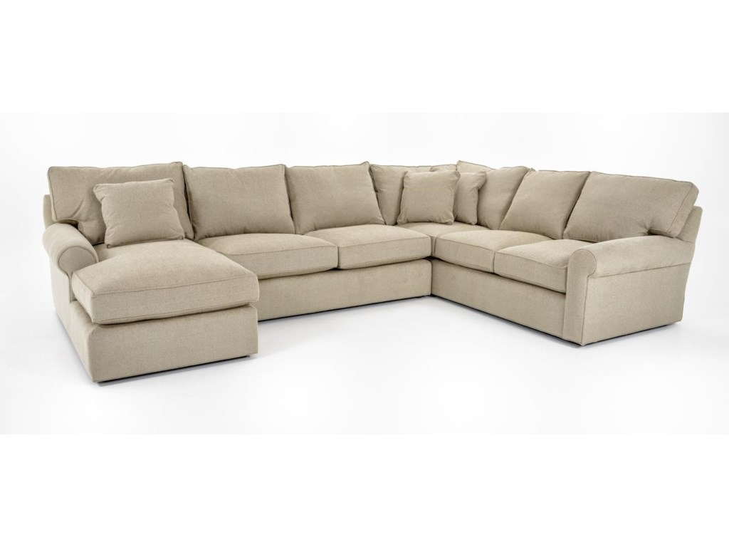 Freestyle Collections 0659Harris Sectional with Chaise