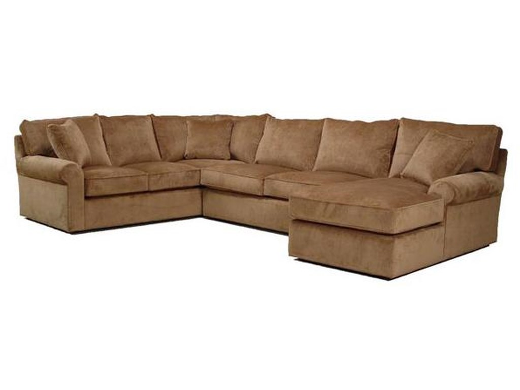 BeModern HarrisSectional Sofa with Right-Arm-Facing Chaise