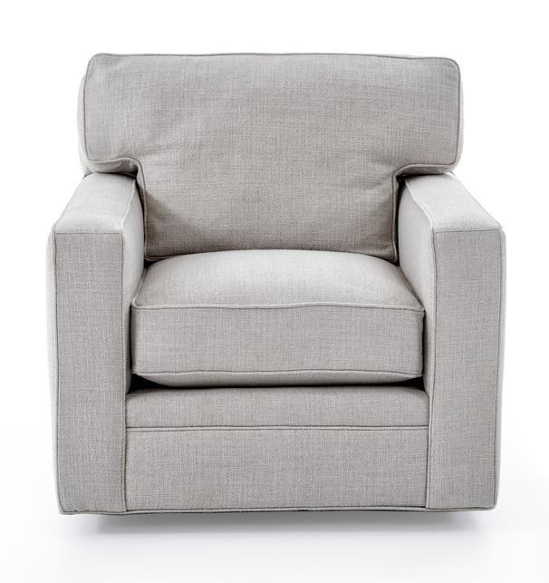 Freestyle collections 0693 contemporary upholstered swivel chair