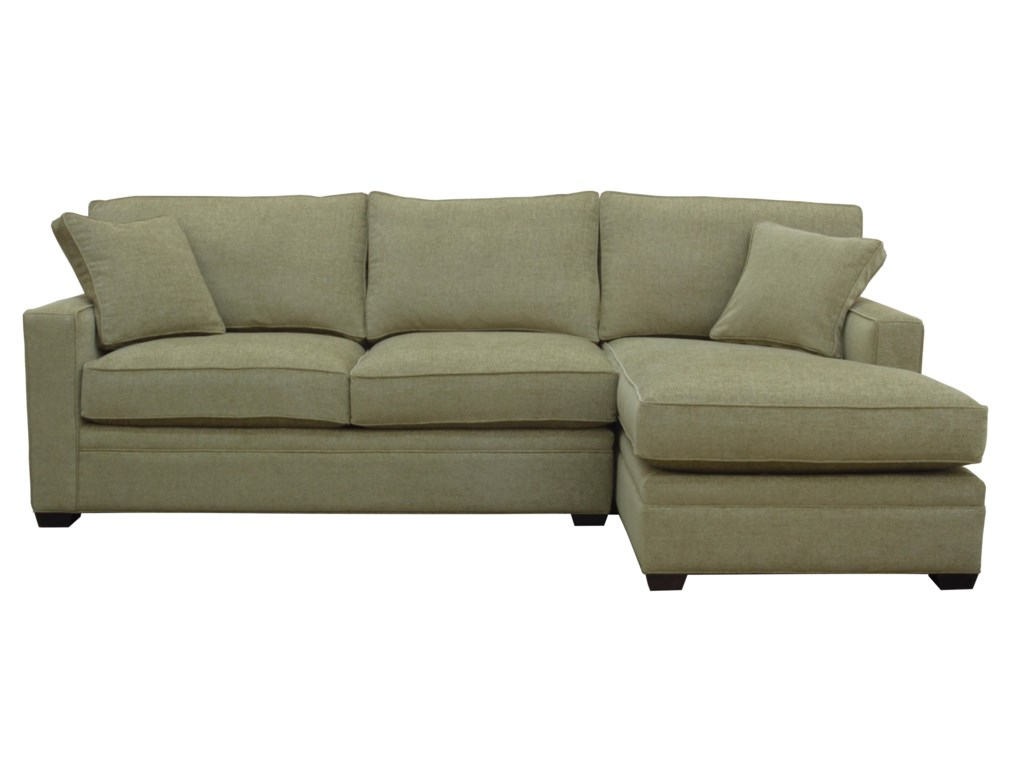 McCreary Modern 0693Sectional Sofa with RAF Chaise