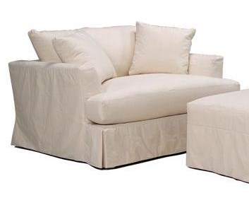 BeModern CloudSlipcover Chair and a Half