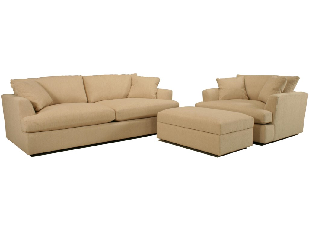 Shown with Grand Sofa and Large Ottoman