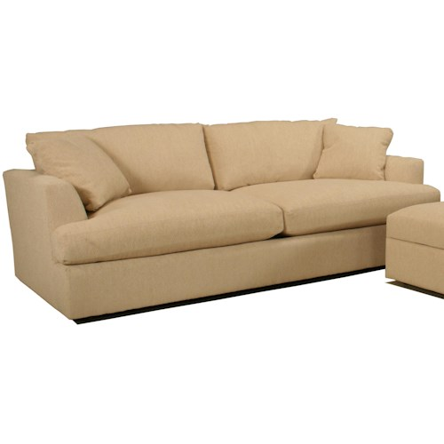 BeModern Cirrus Casual Contemporary Oversized Sofa